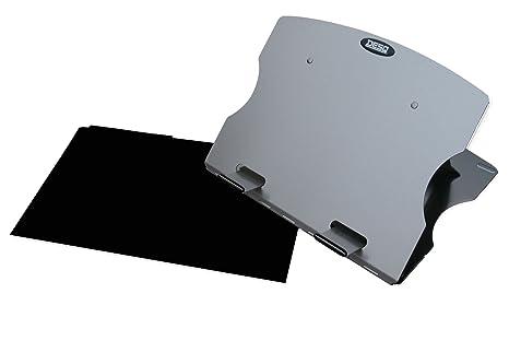 Desq 1506 Carta y cestas de, plegable, aluminio ligero soporte para portátil y fácilmente