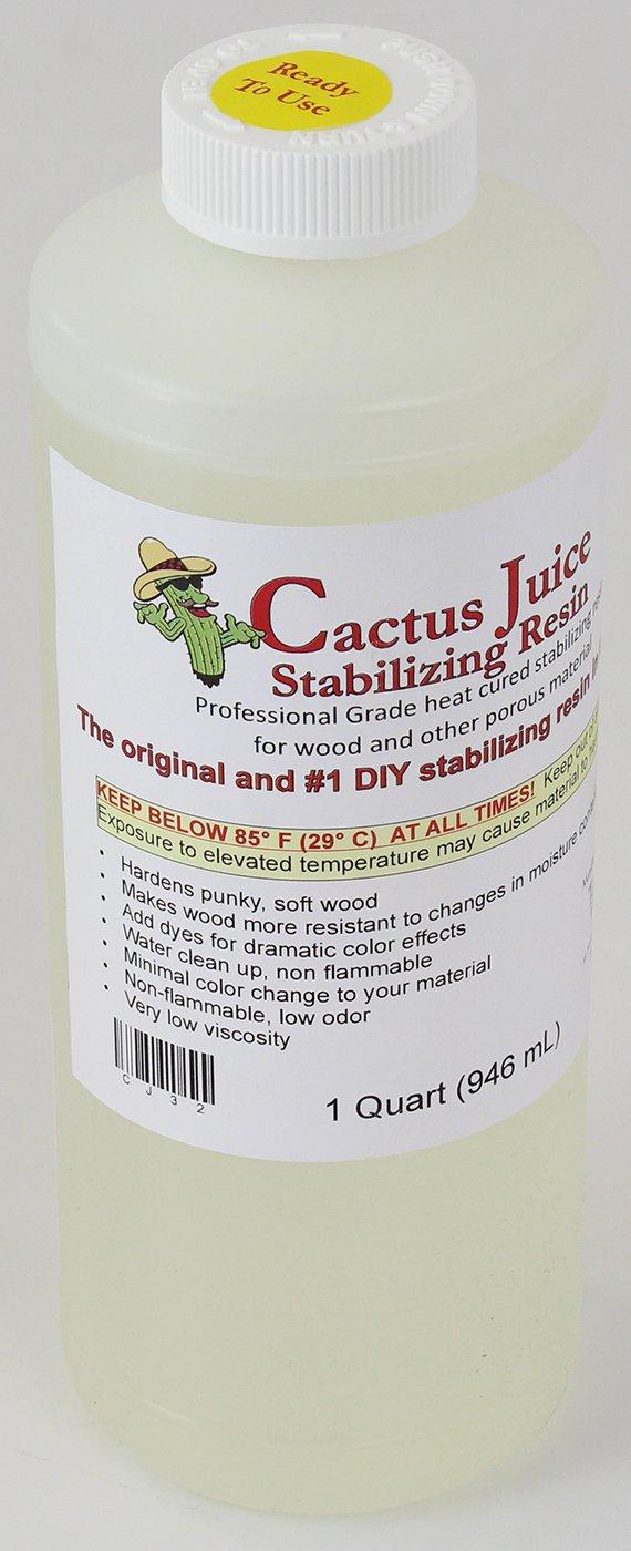 1 Quart Cactus Juice Stabilization Resin