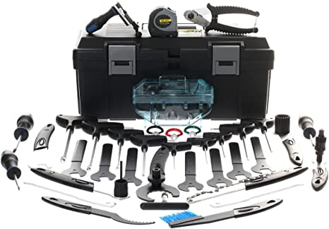 Zero12 caja de herramientas para bicicleta Profesional - 38 piezas ...
