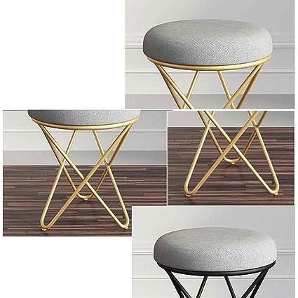 Amazon.com: Small Stool Makeup Stool Bedroom Stool Chair ...