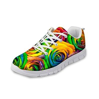 Showudesigns Damen Sneaker, Color 5 - Größe: 35 EU