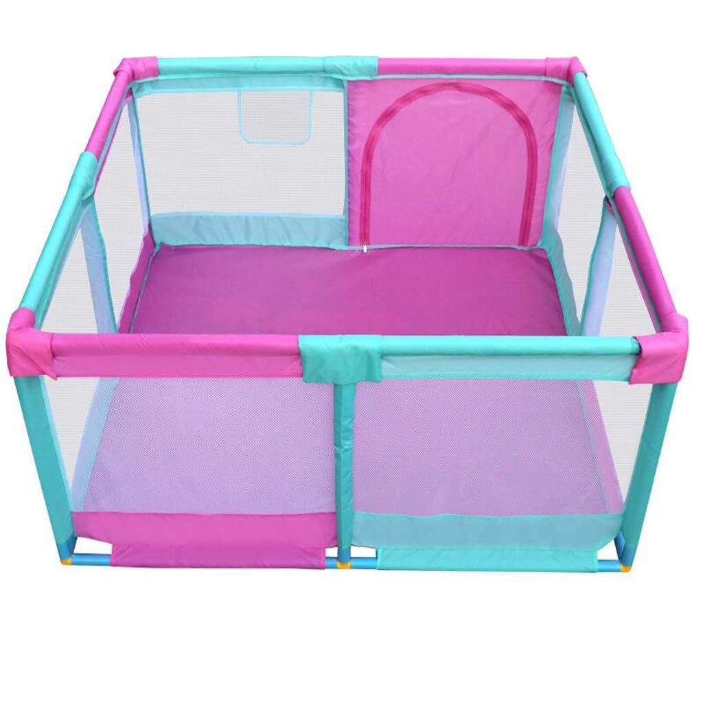 赤ちゃんの家の子供の遊びフェンスフェンス幼児幼児クロールマット安全フェンスの遊び場   B07P53VLSY