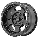 "American Racing AR969 Ansen Off Road Satin Black Wheel (17x9""/5x127mm, -24 offset)"