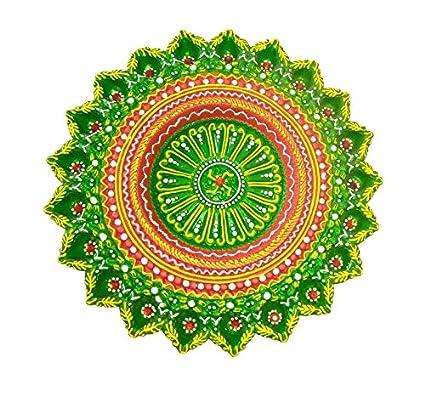 Buy Craft Art India Handmade Rangoli Design Earthen Clay Terracotta