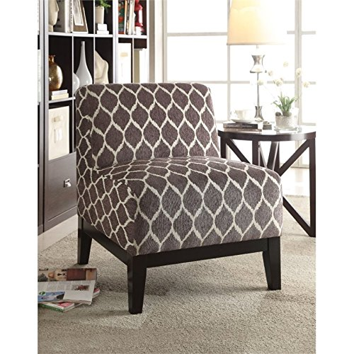 Brown Accent Chair - 5