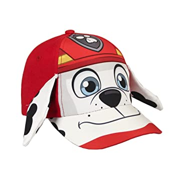 d391bfa1dd1 PAW PATROL 2200002242 Marshall Character Childrens Cap with 3D Effect Ears (One  Size)