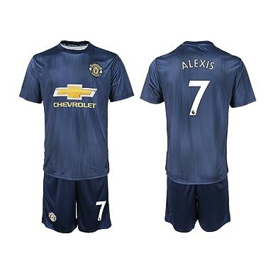 timeless design 96fe8 2d0fa Amazon.com: Necol 2018 New Manchester United Alexis Men's ...
