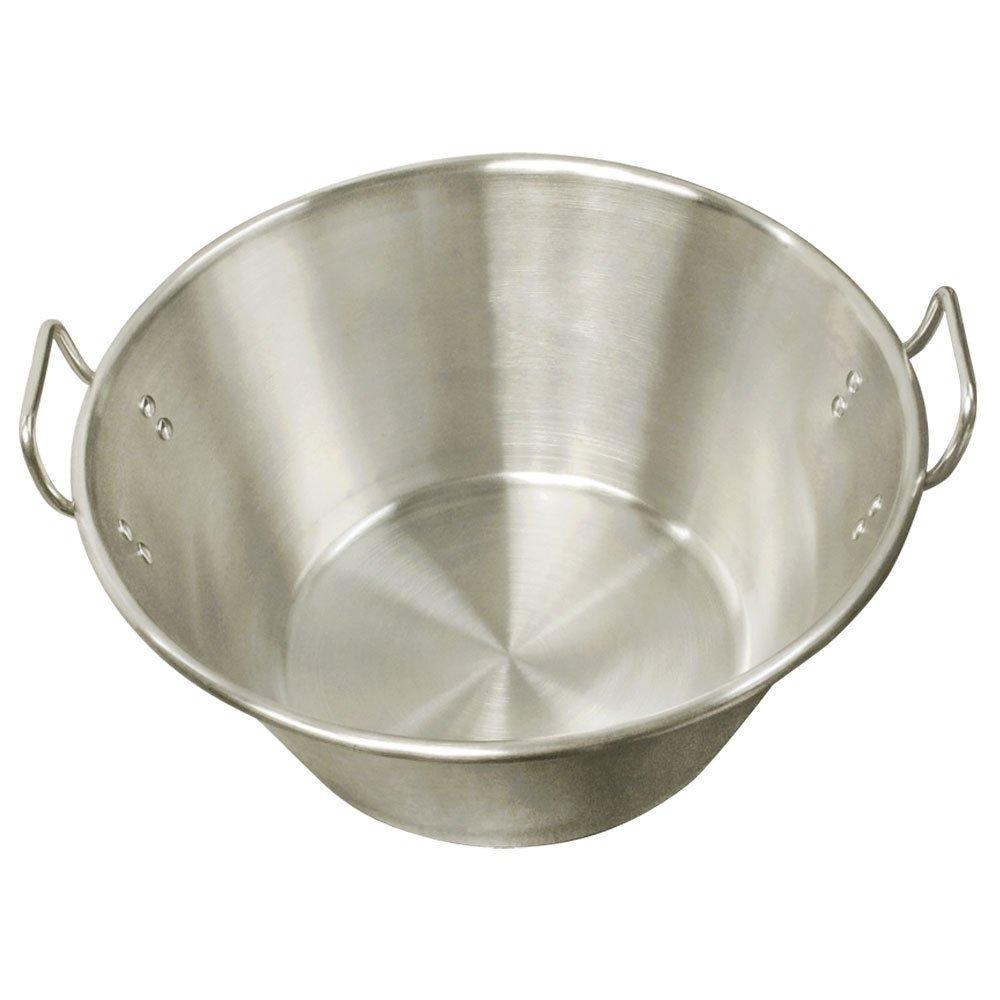 XXL 32 Carnitas Cazo Stainless Steel Caso Pot Pan Wok Gas Stove burner Cook