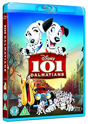 101 Dalmatians Blu Ray