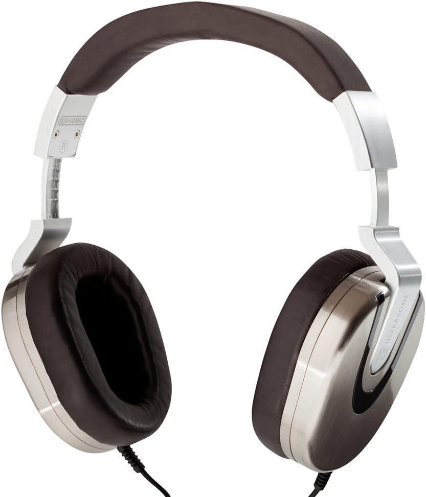 Ultrasone Edition 8 Palladium S-Logic Surround Sound Professional Closed-back Headphones with Leather Transport Bag