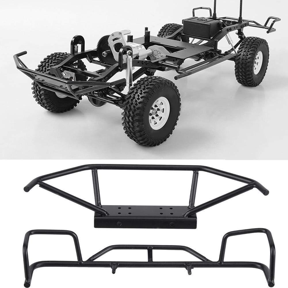 RC Car Front Rear Bumper TF1 1//10 Scale RC Crawler Car Model Vehicle Accessory Metal Front Rear Bumper TF2