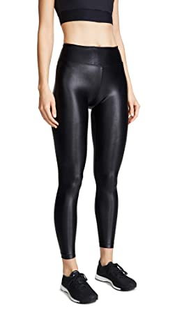 e7f43bbde3268 Koral Activewear Women's Shiny Metallic Active Legging at Amazon Women's  Clothing store: