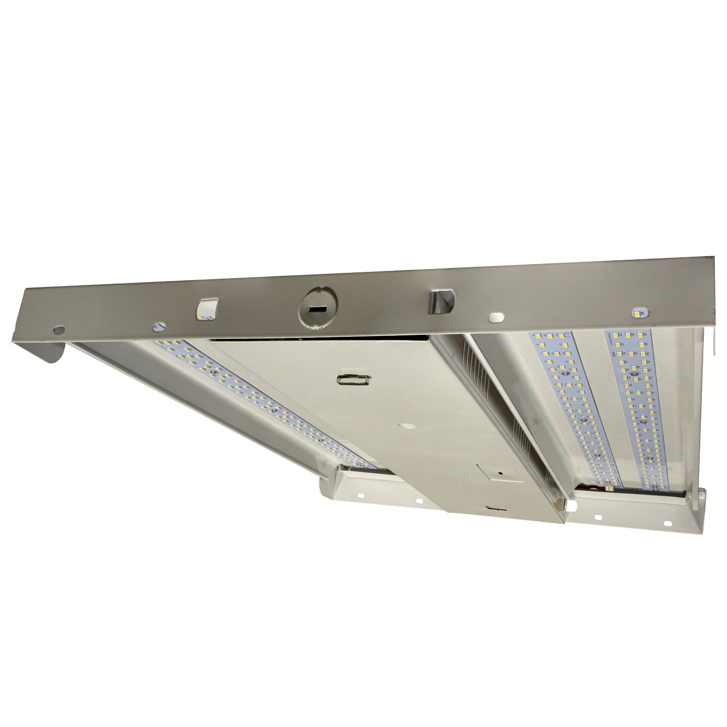100 Watt LED I-Beam Dimmable High Bay Ceiling Light, 13,910 Lumens, Great for Warehouse and Shop - 4000 Kelvin 120-277 Volt 5 Yr Warranty DLC Premium Approved, cETLus Listed