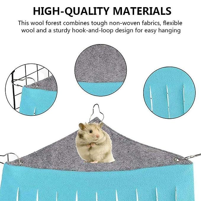 SparY Tienda de campaña para Mascotas, esquinero con borlas para ...