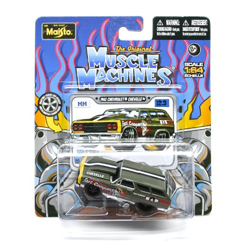1965 Chevrolet Chevelle (Fast Company) * The Original Muscle Machines * Series 12 Maisto 1:64 Scale Die-Cast Vehicle Collection ()