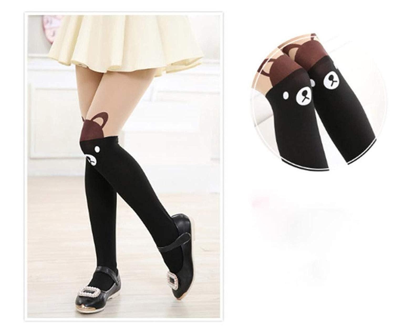 Lovely Cute Bear Pattern Baby Girl Pantyhose Thin Socks For Girls Toddler Kids