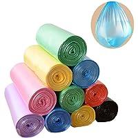 Bukit glad Trash Bags, 5 Rolls/100 Count 4 Gallon biodegradable trash Bags for Bathroom, Bedroom, Office, Car, Home…