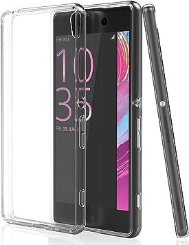 NEWC Funda para Sony Xperia XA, Anti- Choques y Anti- Arañazos, Silicona TPU, HD Clara: Amazon.es: Electrónica