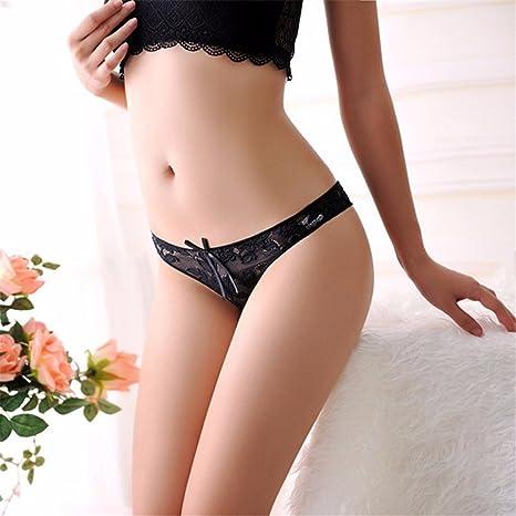 0bdf42341ca Vory Ultra-thin Women s G-string Thong Transparent Sexy Panties Underwear  Women Cotton Lace