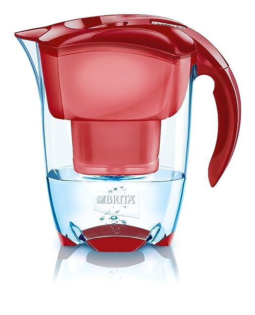 193 opinioni per Brita Elemaris Meter Cool Caraffa filtrante per acqua colore: Rosso