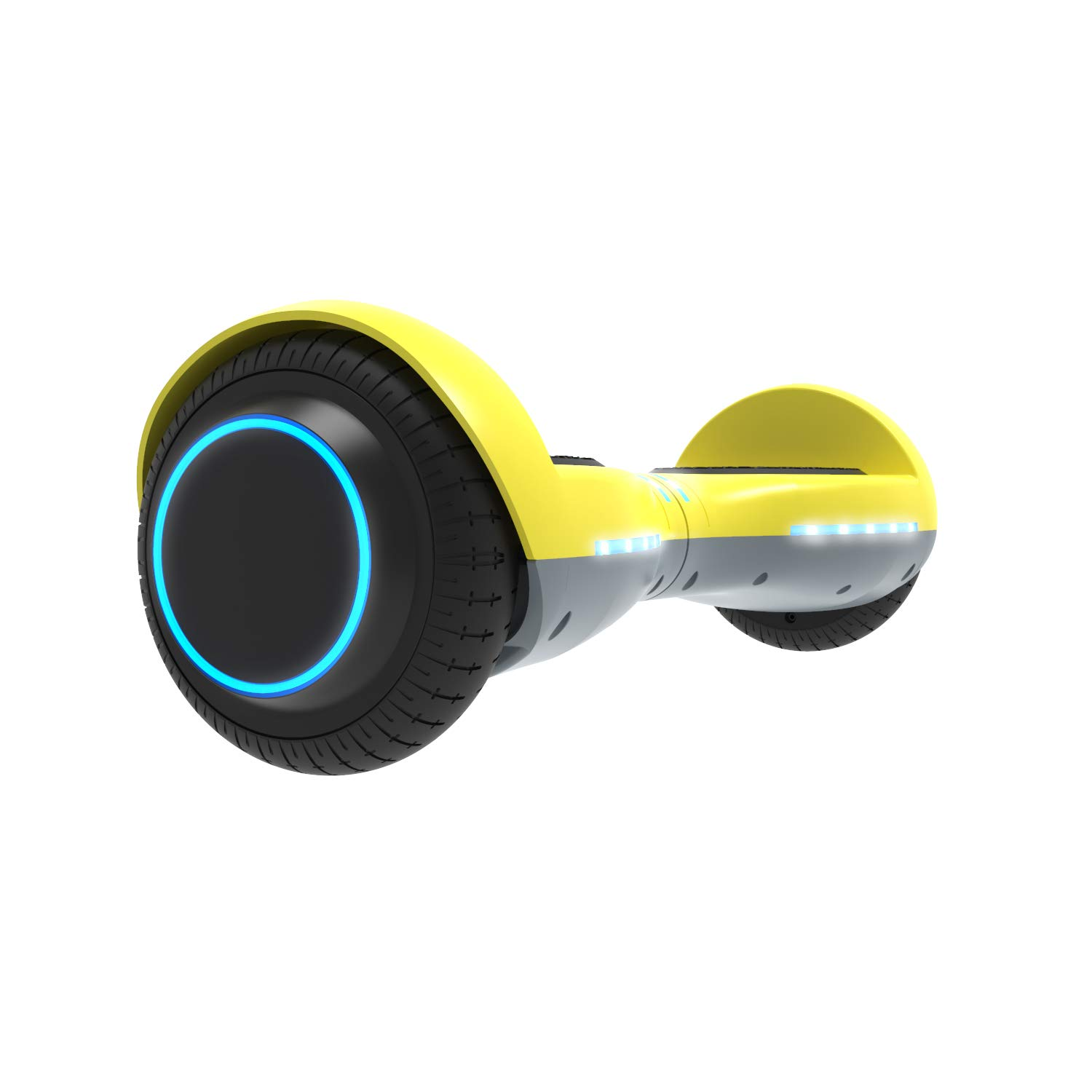 GOTRAX ION LED Hoverboard - UL Certified Hover Board w/Self Balancing Mode (Yellow)