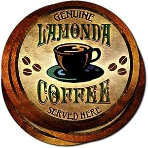 Lamonda Coffee Neoprene Rubber Drink Coasters - Set of 4
