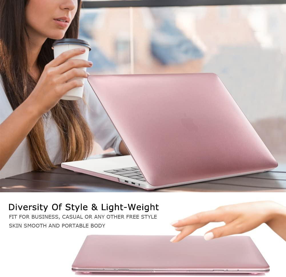 FORITO Premium Ultra Thin Keyboard Cover for 2019 2018 Newest MacBook Air 13 A1932 with Retina Display and Touch ID Version Soft-Touch Keyboard Protective Skin TPU