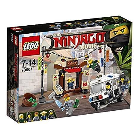 LEGO 70607 Verfolgungsjagd in Ninjago City Bausteine, Bunt