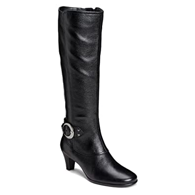 d1bb408aade AEROSOLES Womens Incredible Boot (Black Leather 6.0 M)