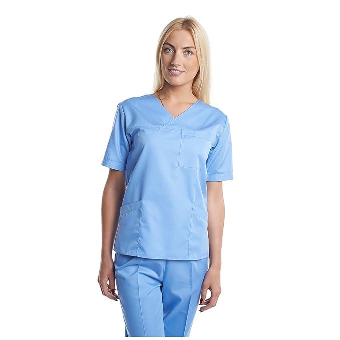 Vest Albus Pijama Sanitario Competo Laboratorio Ropa Medico (XS)