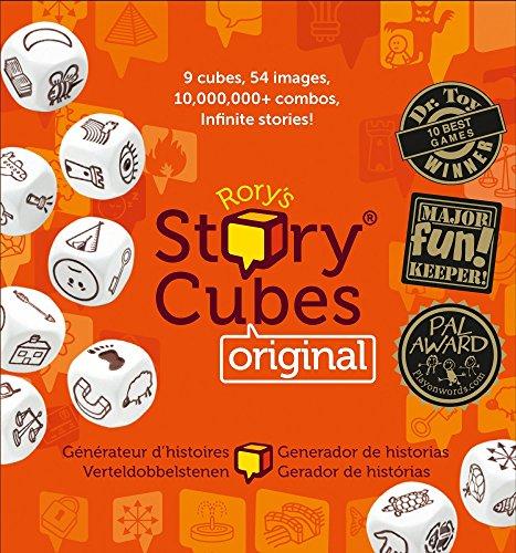 Asmodee – Story Cubes, juego educativo [versión alemana]
