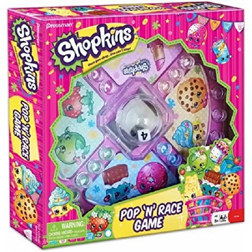 Shopkins Pop 'N' Race Game - Classic
