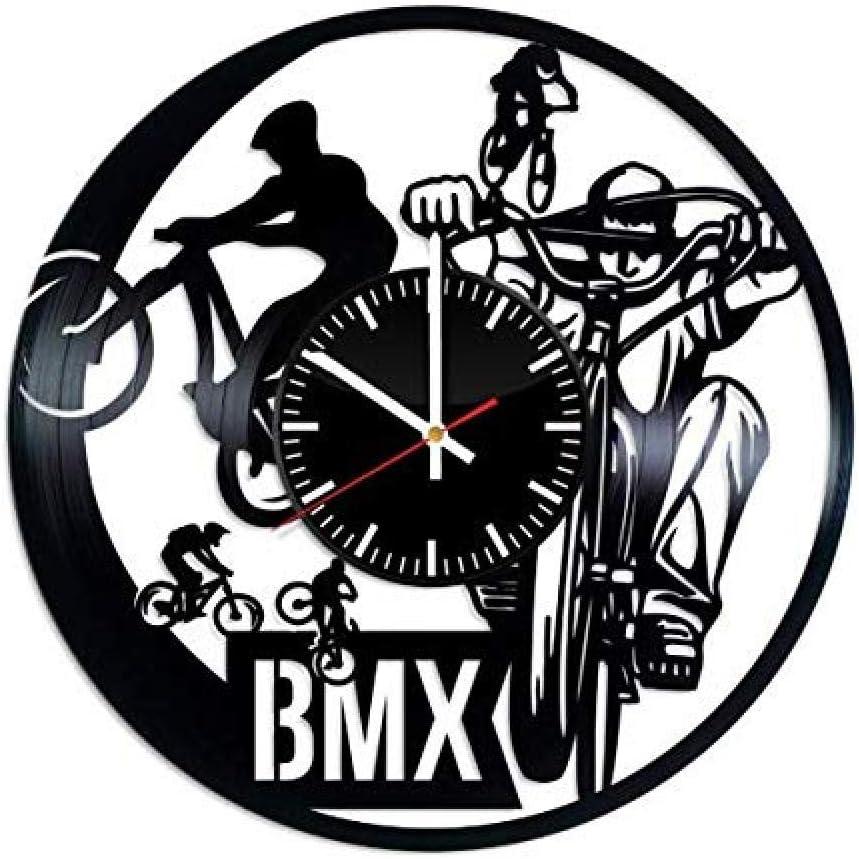 Aiyoubu Bmx Racing Bicicleta Moto Cross Vinilo Vinyl Record hecha ...