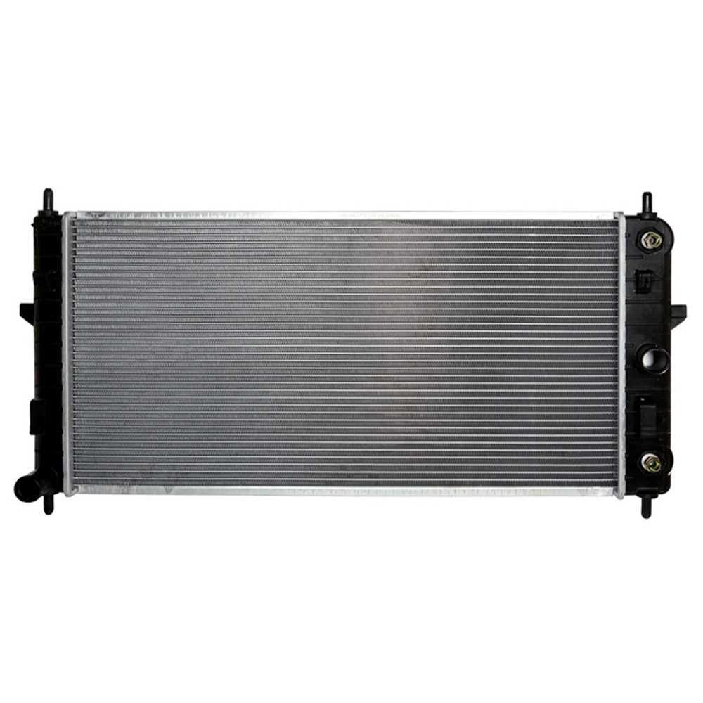 Prime Choice Auto Parts RK1025 New Aluminum Radiator