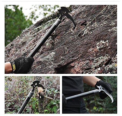 Black Diamond Raven Ice Axe,Omega Pacific Mountain Axe,Climbing picks, ice picks,Multi use knife field to survive equipment,Climbing sticks