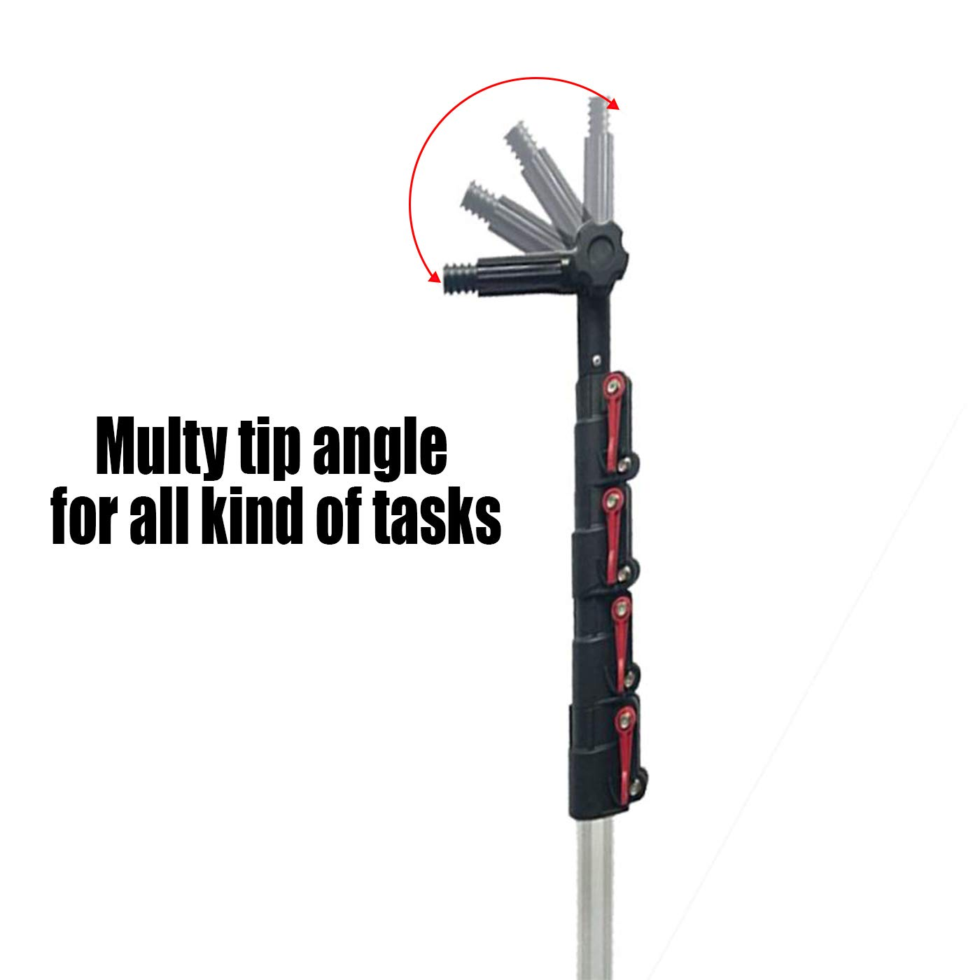6 24 Foot Telescopic Extension Pole Multi Functional