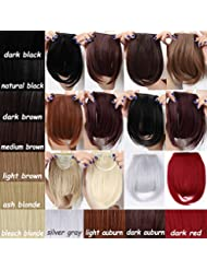 Amazon clip hair extensions extensions wigs new fashion 820cm bangs clip in hair extensions on pmusecretfo Image collections