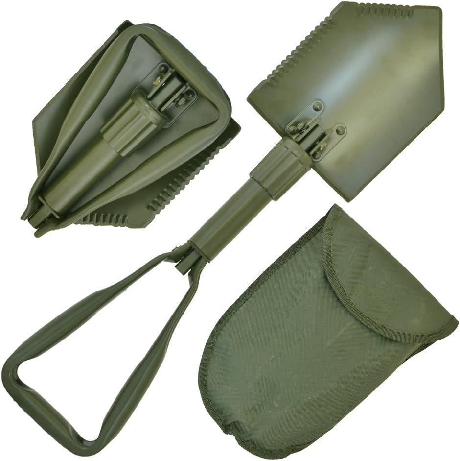 LOTAN durgence Extreme Heavy Duty Multifonctions Militaire Pelle Pliante avec /étui