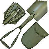 NATO Emergency 'Extreme' Heavy Duty Multi-Functional Military Folding Shovel with Case