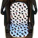 Aryko Baby Stroller Car Seat Cover | Liner, Breathable 3D Air Mash Cushion Pad All Weather - Shnauzer