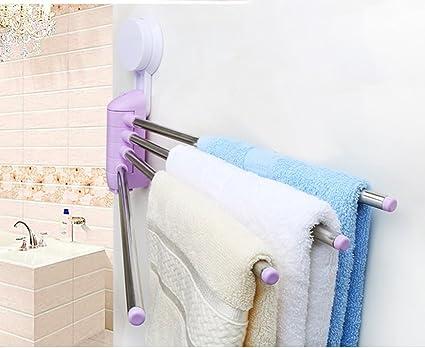 Portasciugamani Bagno Muro : Porta asciugamani da bagno bagno libero portasciugamani ventosa