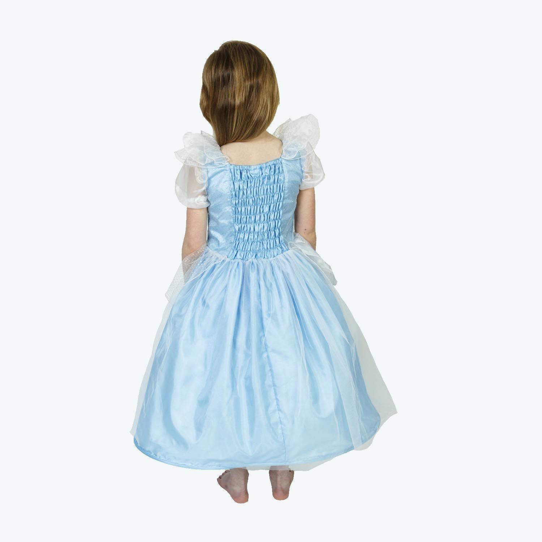 Lucy Locket - Vestido Disfraz de Princesa Ella para niña (7-8 año): Amazon.es: Juguetes y juegos