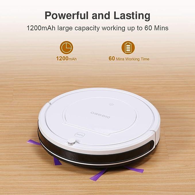 Diggro KK320 Robot Aspirador de Limpieza Patentado Aspirador de Suciedad (Plástico): Amazon.es: Hogar