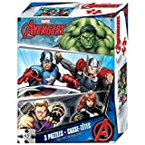 Marvel Comics 3 Pack Jigsaw Puzzles Game - Image of Puzzle may vary