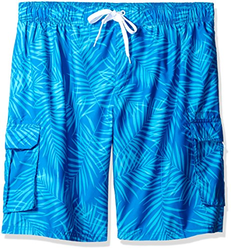 Kanu Surf Men's Monaco Swim Trunks (Regular & Extended Sizes), Palma Royal, 3X