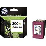 HP 300XL - Cartucho de tinta Original HP 300 XL de álta capacidad Tricolor para HP DeskJet HP PhotoSmart Hp ENVY