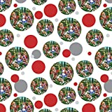 Alice in Wonderland Garden Party Premium Gift Wrap Wrapping Paper Roll