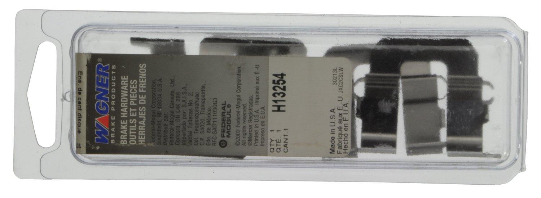 Wagner H13254 Disc Brake Hardware Kit Rear