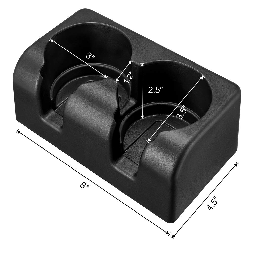 Fits Chevy Colorado Cup Holder for GMC Canyon 2004 to 2012