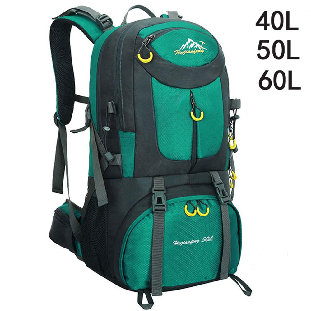 TnXan Outdoor Waterproof Bag Backpack Hiking Backpack Male Hiking Backpack Hiking Backpack Female Bag Camping Travel Bag Hiking Backpack Bike Backpacks 40L 50L 60L